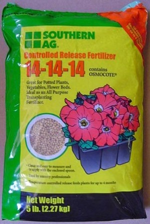 14-14-14 Osmocote Time Release Fertilizer - 1lb Bag